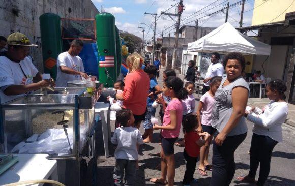 Evento Instituto Mário Américo Comunidade Da Caixa D'água